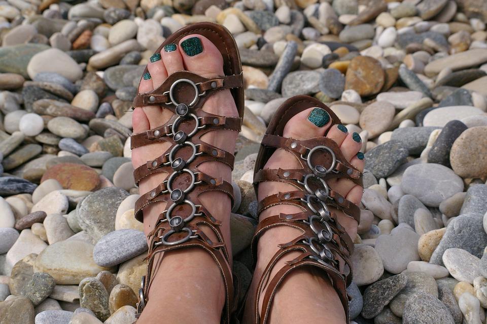 sandales tropeziennes